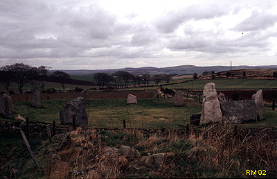 East Aquorthies Stone Circle, Aberdeenshire