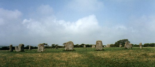 Merry Maidens Stone Circle, Cornwall