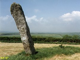 Pipers Standing Stone, Cornwall