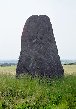 Llanynghenedl Standing Stone, Anglesey