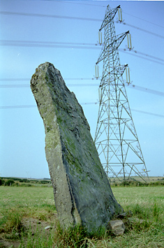 Llanfechel Standing Stone, Anglesey