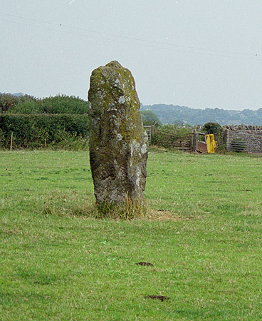 Llandyfnan Stone Standing Stone, Anglesey