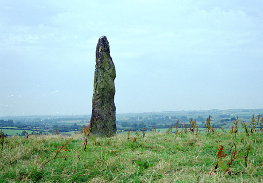 Llandegfan Standing Stone, Anglesey