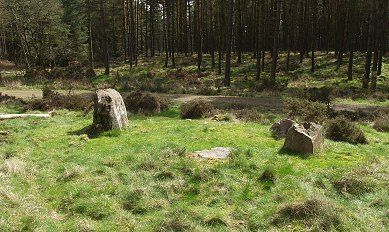 Broomrigg A Stone Circle, Cumbria