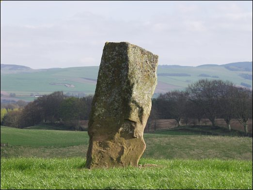 Craigton Standing Stone, Perthshire