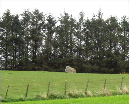 Drach Law Standing Stone, Aberdeenshire