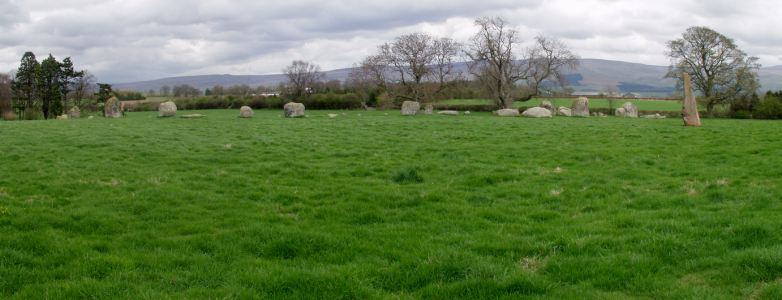 Long Meg & Her Daughters Stone Circle, Cumbria