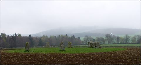 Milltown of Rothemay Stone Circle, Aberdeenshire