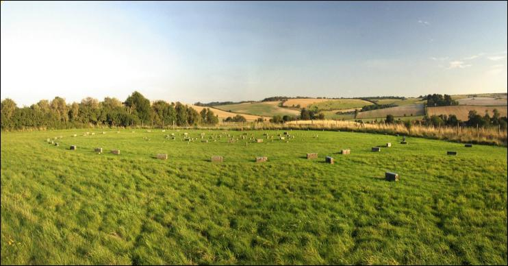 The Sanctuary Stone Circle, Wiltshire
