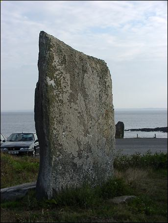 le Vivier Standing Stone, Brittany